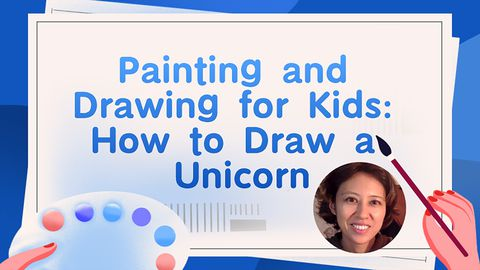 Painting and Drawing for Kids: How To Draw a Unicorn