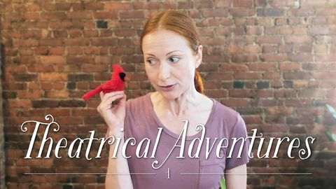 Theatrical Adventures with Tatyana and Rudy, the Cardinal, Part 1