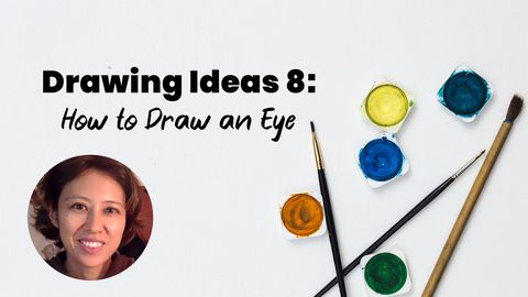 Drawing Ideas 8: Eye Drawing (How to Draw an Eye)