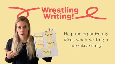 Wrestling Writing! Part 2: Narrative Story