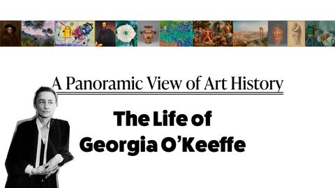 Artwork - A Panoramic Look at Art History: The Life of Georgia O'Keeffe