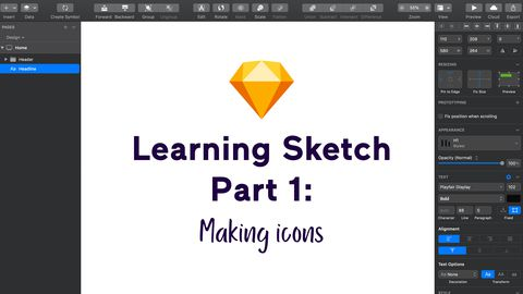 Learning Sketch, Part 1: Making Icons