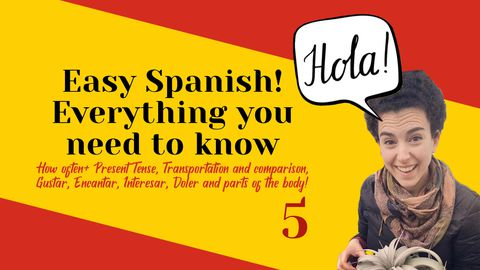 Best Way to Learn Spanish 4: Present Tense