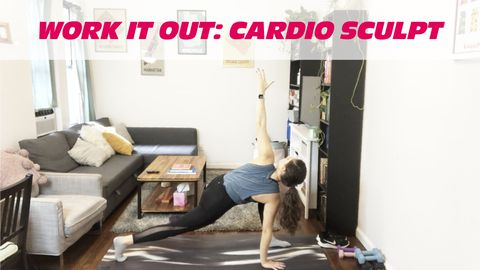 Work it Out: Cardio Sculpt, Class 1