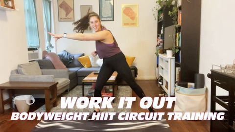 Work It Out: Bodyweight HIIT Circuit Training