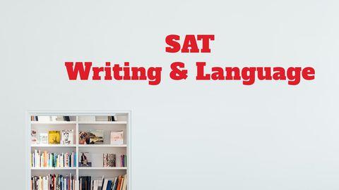 SAT Writing & Language