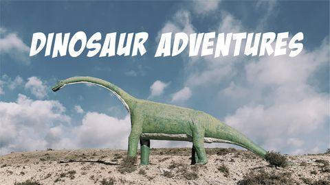 Dinosaur Adventures: A Magic Tree House Story and Dino Activities
