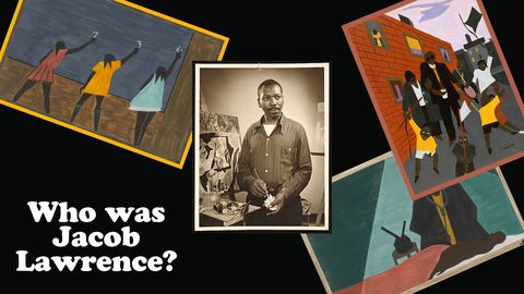 Who was Jacob Lawrence?