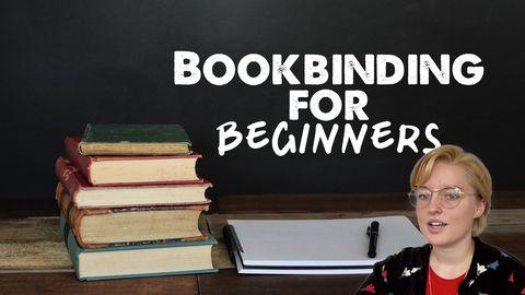 Bookbinding for Beginners!