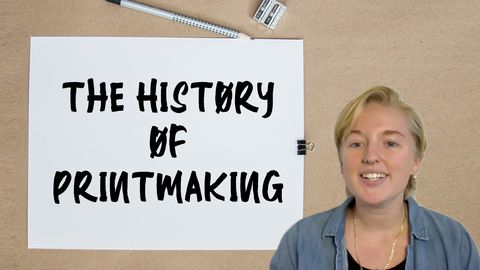 The History of Printmaking