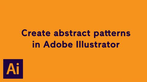 Create Abstract Patterns in Adobe Illustrator