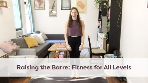 Raising the Barre: Fitness for All Levels, Class 1