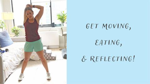 Get Moving, Eating, & Reflecting! - Self Care Day 2