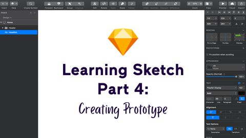 Learning Sketch - Part 3: Creating Prototype