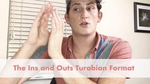 The Ins and Outs Turabian Format