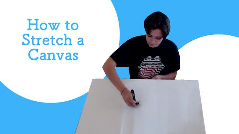 Canvas Art - How to Stretch Canvas