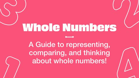 What Are Whole Numbers: Representing and Comparing