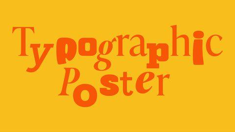 Typography Poster Challenge