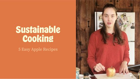 Sustainable Cooking: 5 Easy Apple Recipes