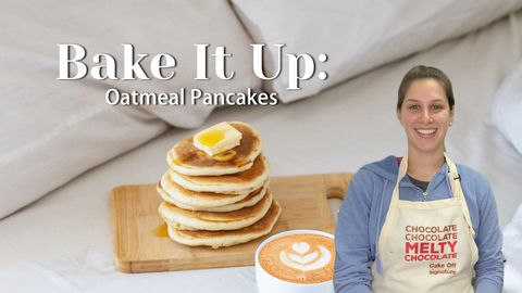 Bake It Up: Oatmeal Pancakes