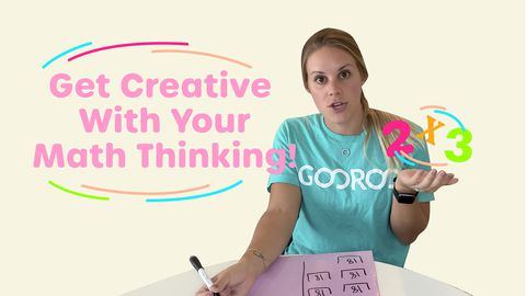 Get Creative With Your Math Thinking!