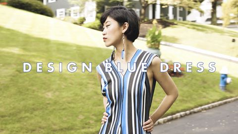 Design: Blue Dress