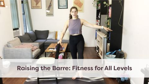 Raising the Barre: Fitness for All Levels, Class 2