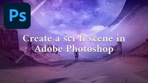 Create a Sci-Fi Scene in Adobe Photoshop