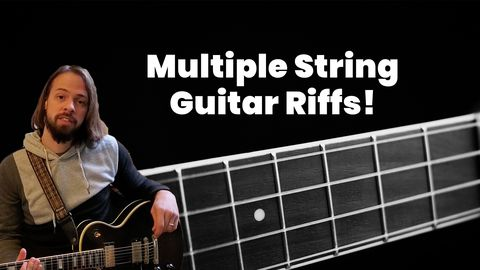 Best Guitar Riffs - Using Multiple String!