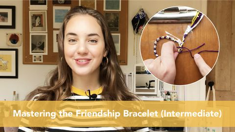 Arts and Crafts: Mastering the Friendship Bracelet (Intermediate)