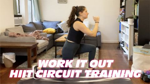 Work It Out: HIIT Circuit Training