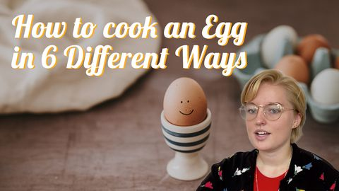 6 Ways to Cook Eggs