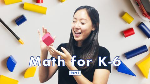 Math for K-6: Addition, Subtraction and Shapes, Part 1