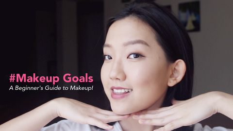 #Makeup Goals: A Beginner's Guide to Makeup!