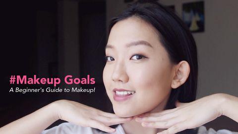 #Makeup Goals: A Beginner's Guide to Makeup!