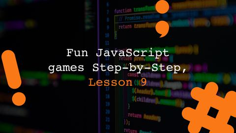 Matching Card Games - Fun JavaScript Games Step-by-Step, Lesson 9