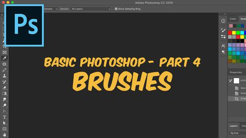 Adobe Photoshop, Part 4: Brushes