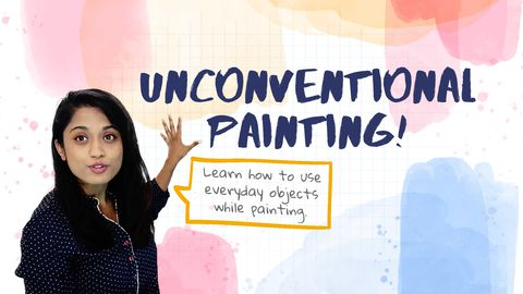Painting Ideas with Unconventional Methods!