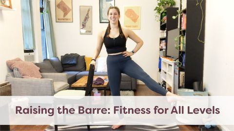 Raising the Barre: Fitness for All Levels, Class 4