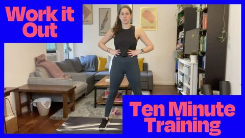 10 Minute Full Body Workout at Home