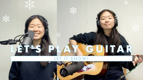 Let It Snow! - Let's Play Guitar