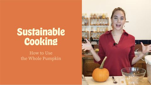 Sustainable Cooking: How to Use the Whole Pumpkin