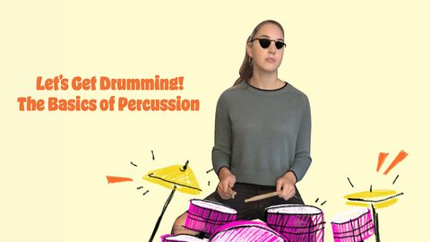 Let's Get Drumming!: The Basics of Percussion