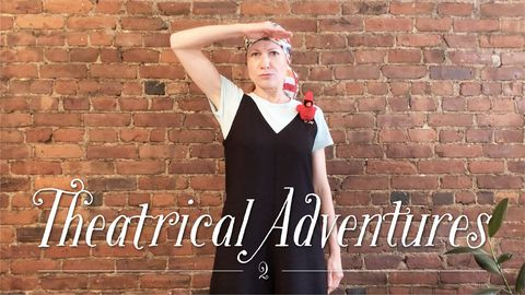 Theatrical Adventures with Tatyana and Rudy, the Cardinal, Part 2
