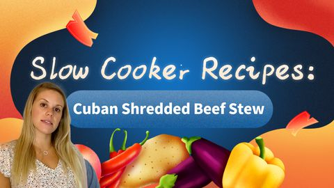 Slow Cooker Recipes: Cuban Shredded Beef Stew