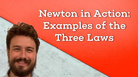 Newton in Action: Examples of the Three Laws