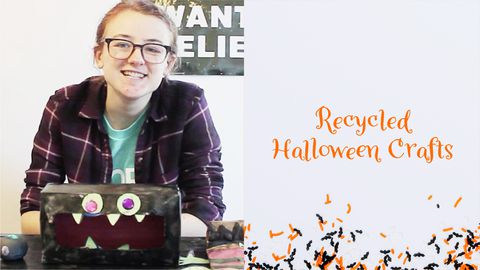 Recycling 101: Halloween Crafts