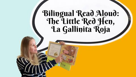 Bilingual Read Aloud: The Little Red Hen, La Gallinita Roja