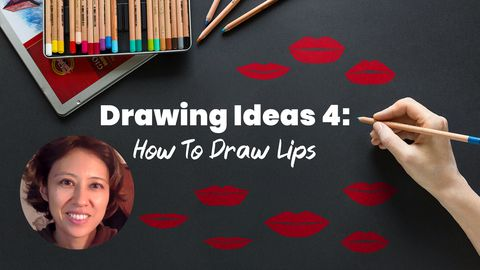 Drawing Ideas 4: How To Draw Lips