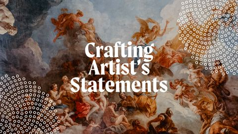 Crafting Artist's Statements